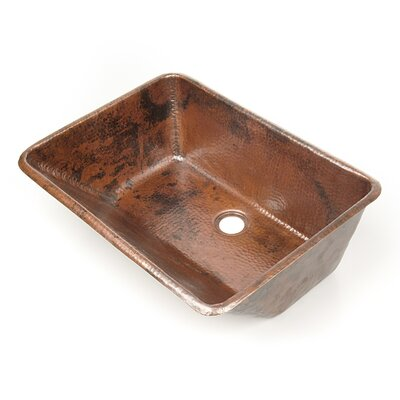 D 39 vontz 20 x 15 bathroom sink in copper reviews wayfair - Copper drop in kitchen sink ...