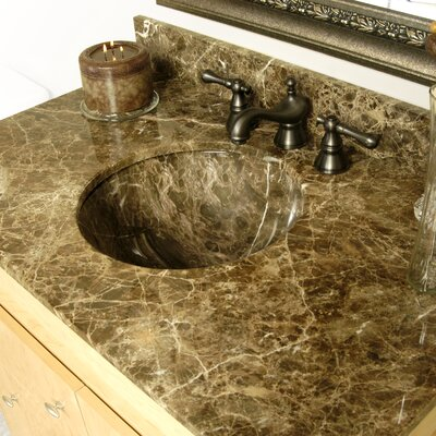 Round Undermount Bathroom Sink - R4015-UC