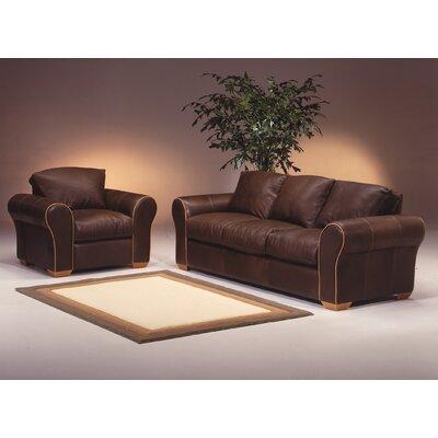 Omnia Furniture Scottsdale Leather Sofa