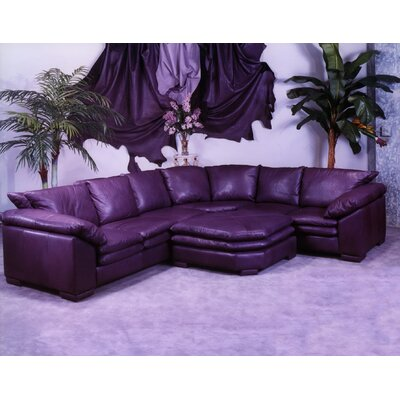 Fargo Leather Sectional