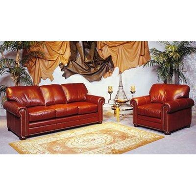 Savannah Leather 3 Seat Sofa Living Room Set Wayfair