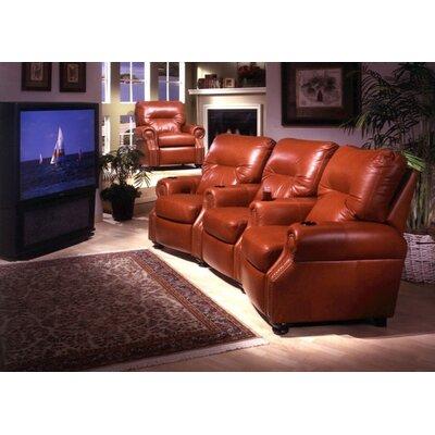 Omnia Furniture Impala Home Theater Seating (Row of 3)