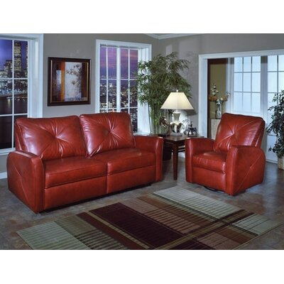 Omnia Furniture Bahama Leather Lift Chair Recliner