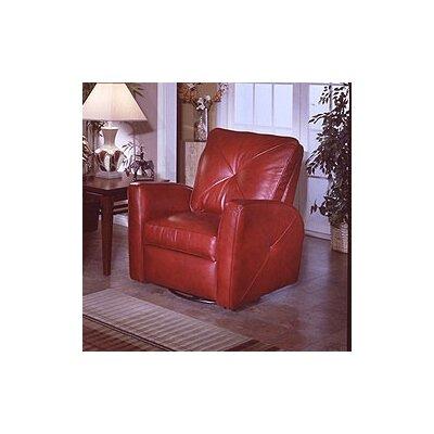 Omnia Furniture Bahama Leather Recliner Reviews Wayfair