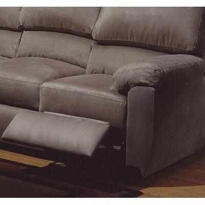 Omnia Furniture Vercelli Leather Reclining Sofa