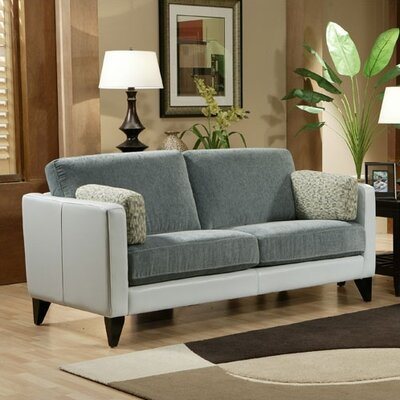 Omnia Furniture Bradford Leather Sofa