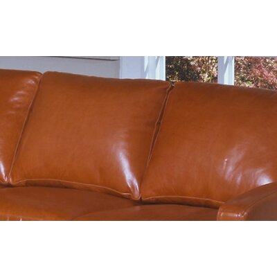 Omnia Furniture Chelsea Deco Sleeper Leather Sofa