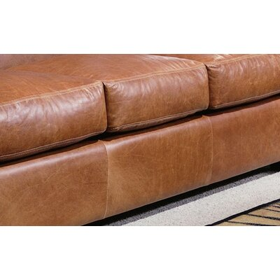 Omnia Furniture Jackson Leather Sofa