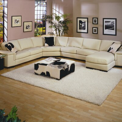 Mercedes Leather Sectional