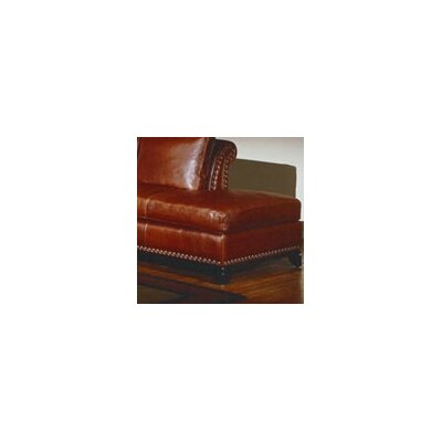 Kingsley Leather Cocktail Ottoman