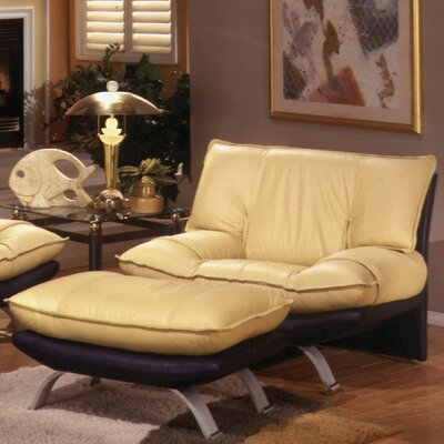 Omnia Furniture Princeton Leather Chair
