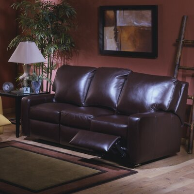 Mirage Leather Reclining Loveseat