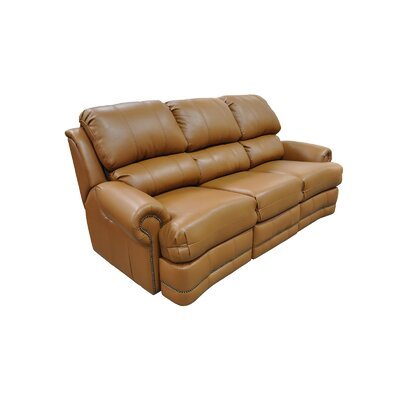 Morgan Leather Reclining Sofa