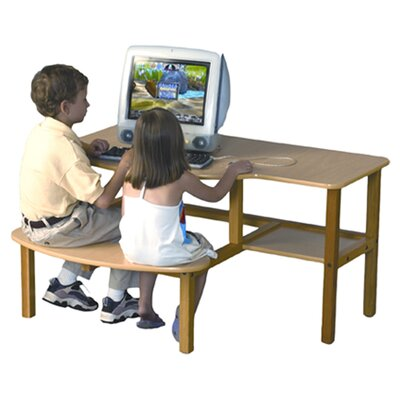 Wild Zoo Grade School Buddy Computer Desk