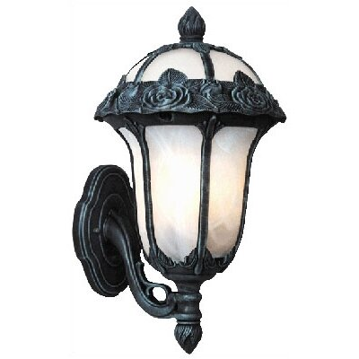 Special Lite Products Rose Garden Bottom Mount Wall Lantern