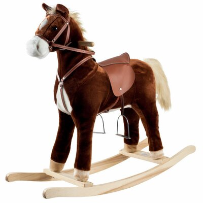 <strong>Happy Trails</strong> Plush Rocking Horse