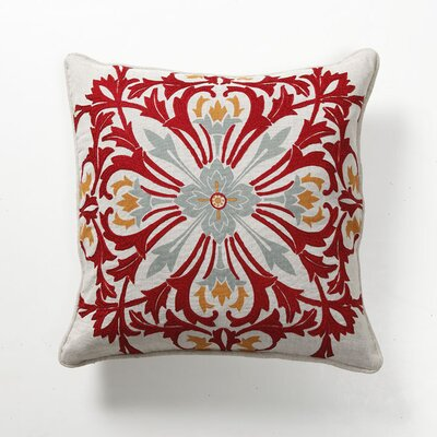 Villa Home Provence Rosetta Tile Pillow