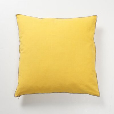 Villa Home Solid Textures Elemento Cotton Canvas Pillow