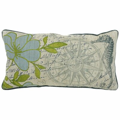 Villa Home Seafarer Beachy Pillow