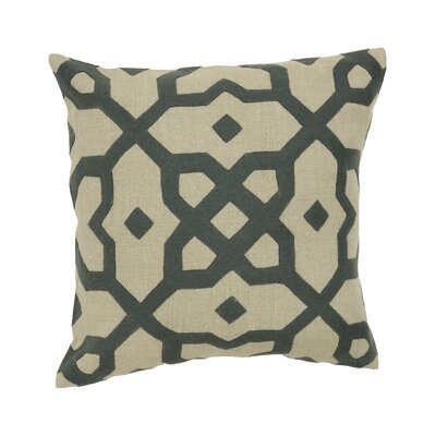 Versailles Plaka Applique Pillow