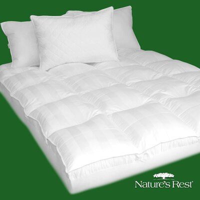 Nature's Rest Deluxe 100% Cotton Fiber Bed