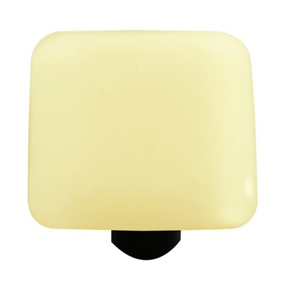Hot Knobs Solids Cabinet Knob in Marzipan Striker