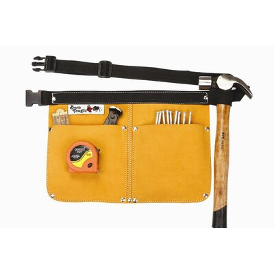 Born Tough Heavy Duty Leather Traditional Nail and Tool Bag