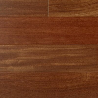 "IndusParquet 3"" Engineered Hardwood Santos Mahogany Flooring in Clearvue Urethane"