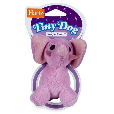 Hartz Jungle Plush Tiny Dog Toy
