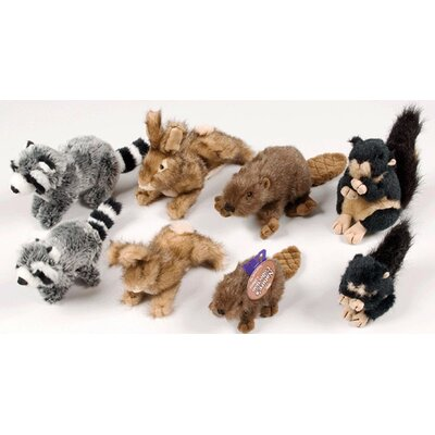 Hartz Small Nature's Collection Plush Dog Toy