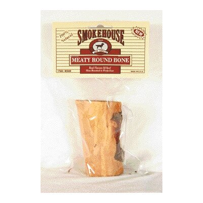 Smokehouse Pet Products Meaty Round Bone Dog Treat