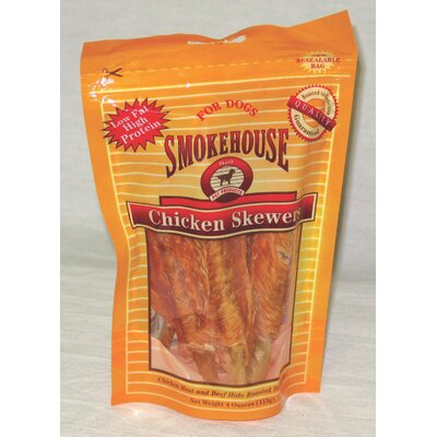 Smokehouse Pet Products Chicken Skewers Dog Treat