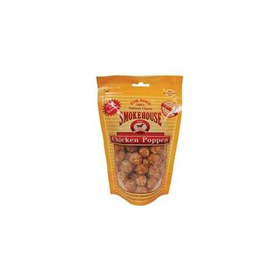 Smokehouse Pet Products Chicken Popper Dog Treat