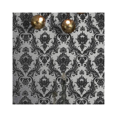 Tempaper Damsel Temporary Damask Wallpaper