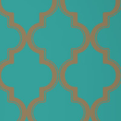 Tempaper Marrakesh Temporary Harlequin Foiled Wallpaper