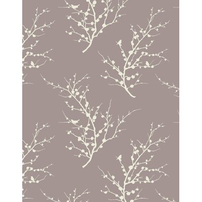 Tempaper Edie Temporary Wallpaper in Champagne