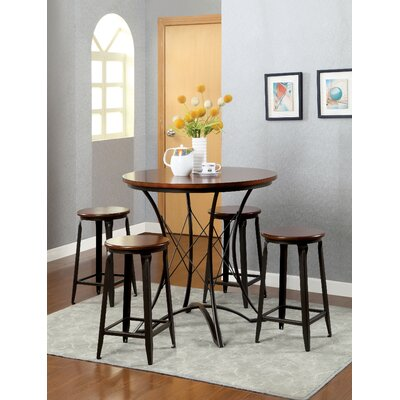 Hokku Designs Darkotia 5 Piece Pub Table