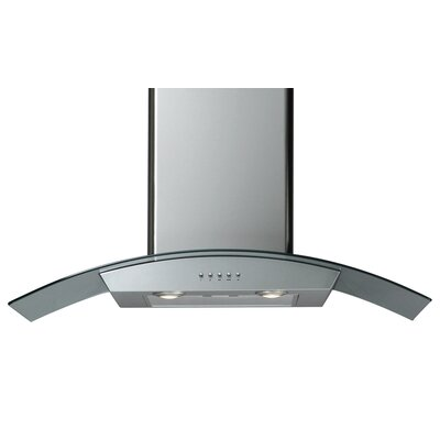Curved Canopy Wall Mounted Range Hood