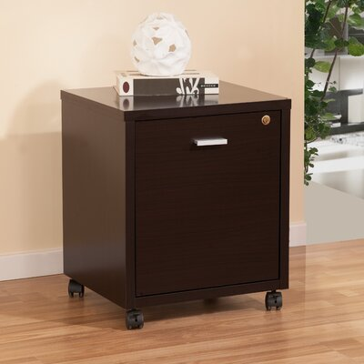 Hokku Designs Collin Single Equipment Trolley / File Cabinet