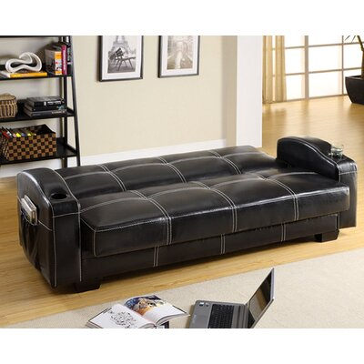 Hokku Designs Clifton Storage Sleeper Sofa