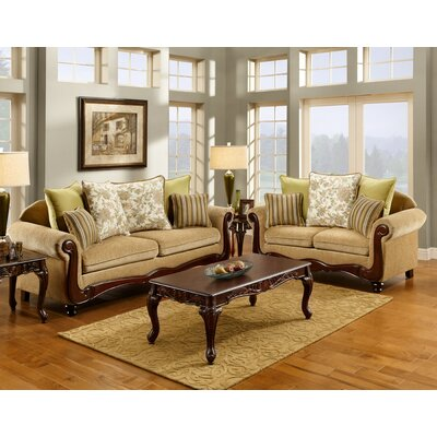 Gevenvie Polyester Cotton Sofa Set