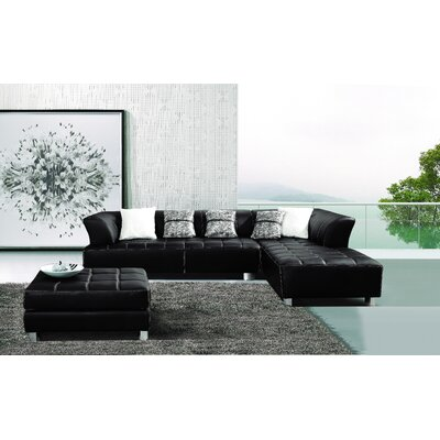 Klyne Faux Sectional