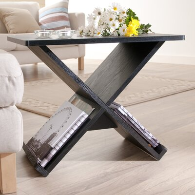 Enitial Lab Cross Braced End Table