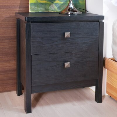 Enitial Lab Florence 2 Drawer Nightstand