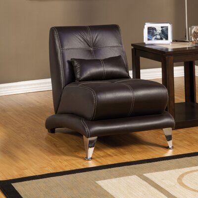 Hokku Designs Sewell Leather Chair