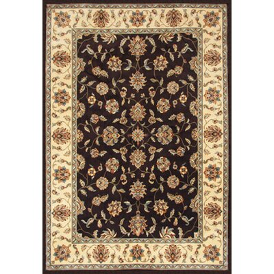 Hokku Designs Tulsy Sophisticated Sable Blooming Rug