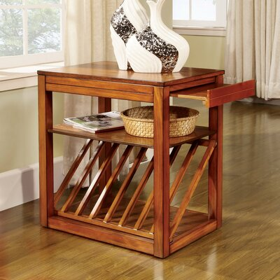 Enitial Lab Mel End Table