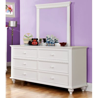 Enitial Lab Kennedy 6 Drawer Dresser