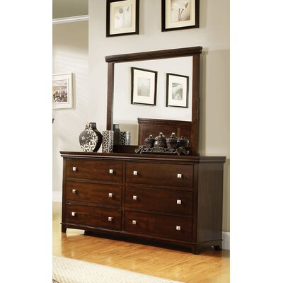 Hokku Designs Bellwood 6 Drawer Dresser