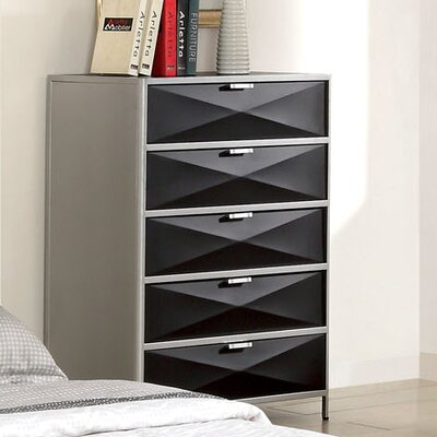 Hokku Designs Mason 5 Drawer Chest